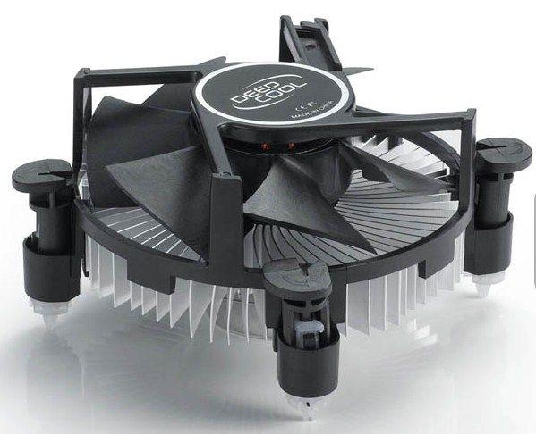 DeepCool CK-11509 Intel CPU kuler 65W 92mm.Fan 2200rpm 38CFM 26dBa LGA115x/LGA1155/LGA775/i3