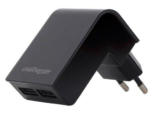 EG-U2C2A-02 Gembird punjac za telefone i tablete 5v 2.1A 2xUSB black FO