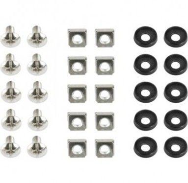 19A-FSET-01 Gembird 19'' rack set, Vijci, navrtke i podloke, 10kom set