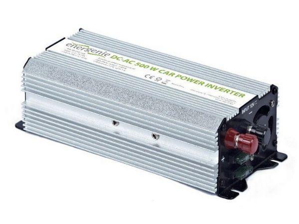 EG-PWC-033 Gembird 12V Auto inverter DC/AC 500W+USB port