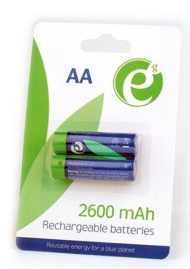 EG-BA-AA26-01 ENERGENIE 2600mAh AA, PAK2 CK, PUNJIVE NiMH baterije (rechargeable)