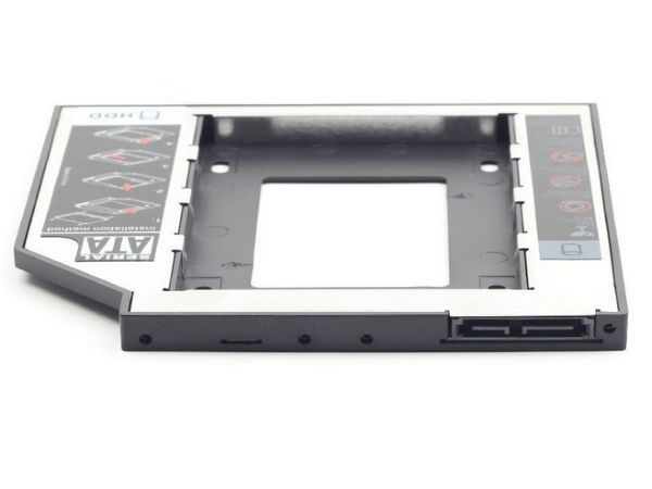 MF-95-01 Gembird Fioka za montazu 2.5'' SSD/SATA HDD(do 9.5mm) u 5.25'' leziste u Laptop umesto optike