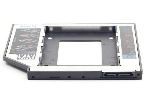 MF-95-01 Gembird Fioka za montazu 2.5'' SSD/SATA HDD(do 9.5mm) u 5.25'' leziste u Laptop umesto optike