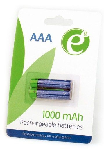 EG-BA-AAA10-01 ENERGENIE 1000mAh AAA, PAK2 CK, PUNJIVE NiM baterije (rechargeable)