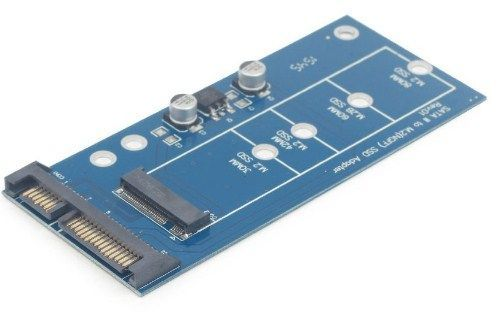 EE18-M2S3PCB-01 M.2 (NGFF) to Mini SATA 1.8'' SSD adapter card