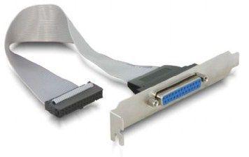 CC-DB25-RECEPTACLE Gembird LPT parallel port on bracket