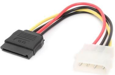 CC-SATA-PS Gembird SATA power supply kabl flat 15cm
