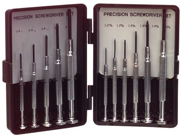 ASS-1101SUPER Screwdriver Set 6x Flat / 5x PH Precision