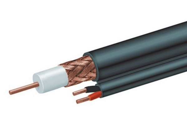 CCP-RG59D-001-300M Gembird RG59 coaxial + power cable, 300 m
