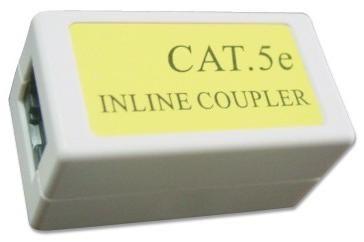 NCA-LC5E-001 Gembird Cat.5E LAN coupler white Spojnica za kabl RJ-45 (alt. TA-350)