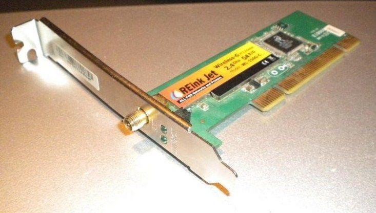 ReinkJet PCI kartica bez antene 54Mbps B/G Ralink SMA konektor