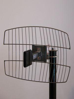 ReinkJet Antena 2.4GHz, 16dbi, 395x310mm, 75om sa koaksijalnim kablom 15m