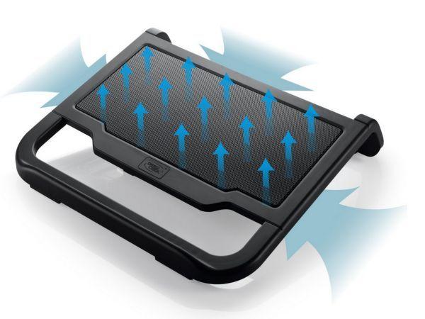 DeepCool N200 Hladnjak za laptop 15.6'' 120mm.Fan 1000rpm 42CFM 22dB 340x310x59mm (postolje)