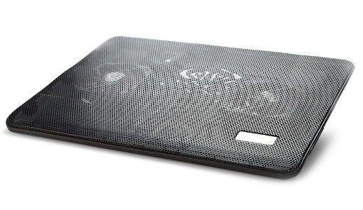 x-NBS-2F17-01 Gembird hladnjak za laptop 17'', 2x8cm LED FAN, 1500rpm, 21CFM, USB, 34x25cm