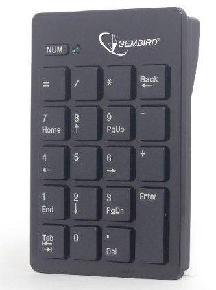 KPD-W-01 Gembird bezicna numericka tastatura