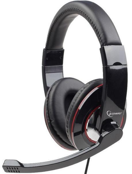 MHS-001 Gembird Stereo slusalice sa mikrofonom + volume kontrol, 2x3.5mm FO
