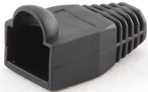 BT5BK/5 Gembird Kapice za LAN konektore black (pakovanje 100 kom)