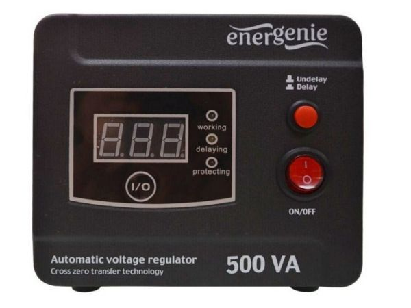 EG-AVR-D500-01 Gembird Automatic voltage regulator and stabilizer ''Digital Series'', 500VA (alt)