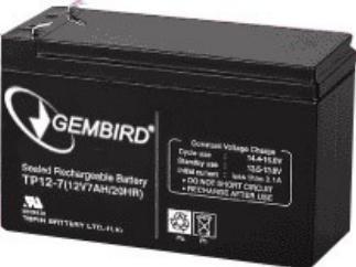 BAT-12V7.5AH Gembird Punjiva baterija 12V 7.5AH za UPS