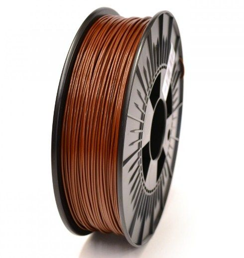 3DP-PLA1.75-01-BR PLA Filament za 3D stampac 1.75mm, kotur 1KG, Brown
