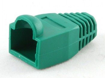 BT5GN/5 Gembird Kapice za LAN konektore green (pakovanje 100 kom)