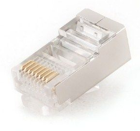 PLUG6SP/50 Shielded modular CAT6, 50 u pakovanju RJ45 / CENA PO PAKOVANJU