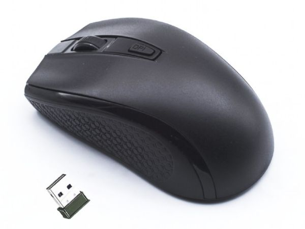 MUSW-107 Gembird 2,4GHz Bezicni mis opticki USB 1600Dpi black