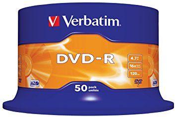 VERBATIM DVD-R 16X 1/50 kom