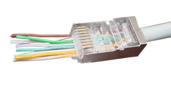 LC-PTF-01/10 Gembird Universal pass-through modular FTP plug 8P8C (10kom u pakovanju) cena pakovanja
