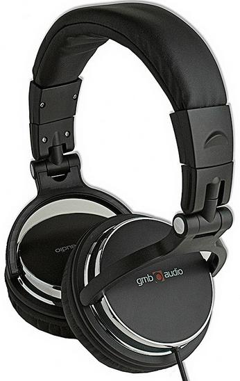MHP-YUL-BK DJ Stereo headphones with volume control, foldable design, black color, 6.35mm + adapt