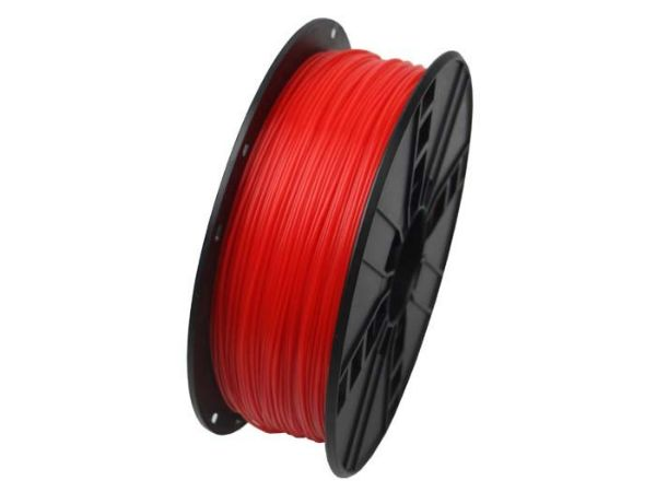 3DP-PLA1.75-01-FR PLA Filament za 3D stampac 1.75mm, kotur 1KG, Fluorescent Red