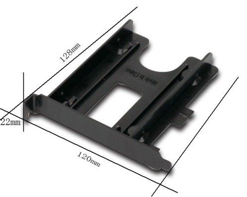 MR-PCISATA2.5-01 Gembird PCI mobile rack for SATA 2.5 drive, black