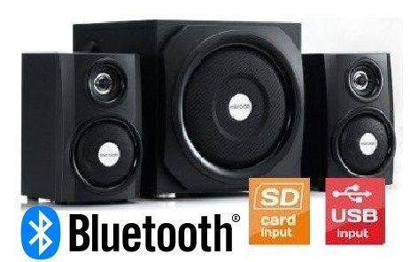 Microlab TMN9BT Aktivni drveni zvucnici 2.1 sistem 40W RMS (18W+11*2W) SD, USB, 3,5mm, BLuetooth