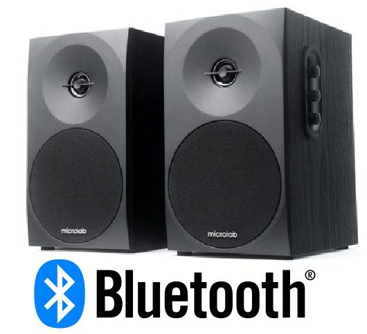 Microlab B-70BT Aktivni drveni zvucnici 2.0 20W RMS(2x10W) 3,5mm Bluetooth