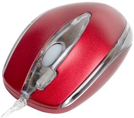 x-A4-OP-3DM-1 * A4Tech Opticki mis, ''2xClick'' button, 800 Dpi, red, PS/2 (417)