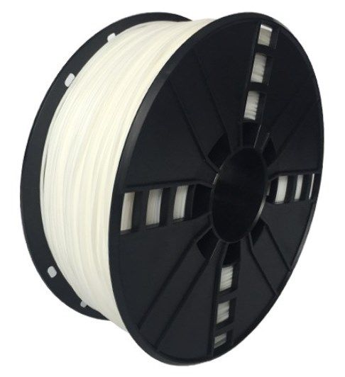 3DP-TPE1.75-01-W TPE FLEKSIBILNI Filament za 3D stampac 1,75mm kotur 1KG WHITE