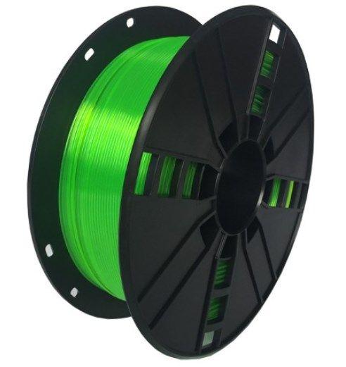 3DP-PETG1.75-01-G PETG Filament za 3D stampac 1.75mm, kotur 1KG Green