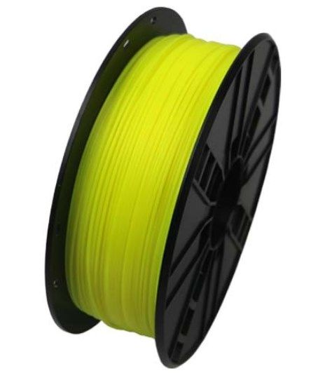 3DP-PLA1.75-01-FY PLA Filament za 3D stampac 1.75mm, kotur 1KG Fluorescent Yellow