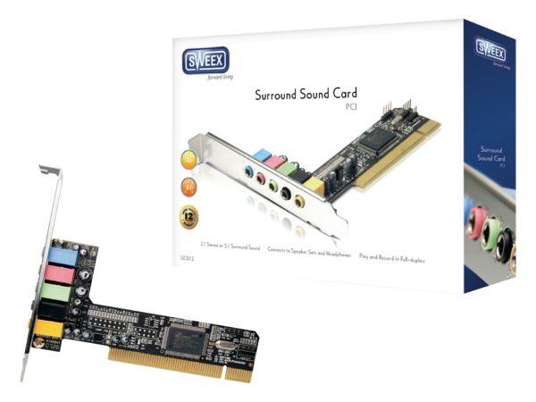 SC012 Sweex Zvucna kartica 5.1 PCI