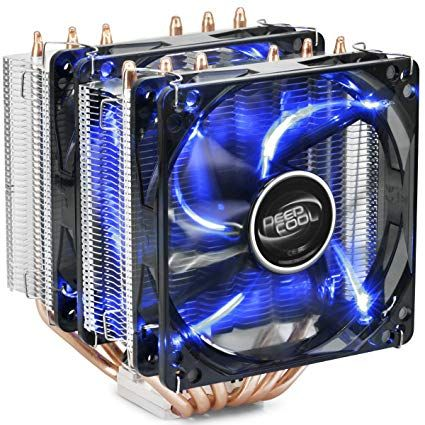 DeepCool NEPTWIN-V2 * UNI kuler >150W 2x120mm.Fan 900~1500rpm 74CFM 18~26dBa 1100g 6xpipes