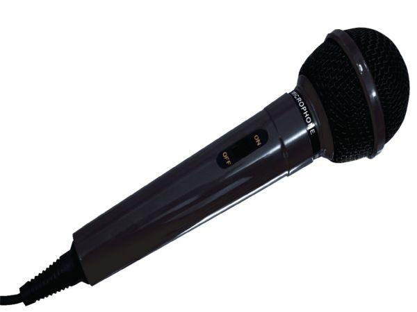 HQ-MIC01 Dinamican karaoke mikrofon, 5m, 6.35mm