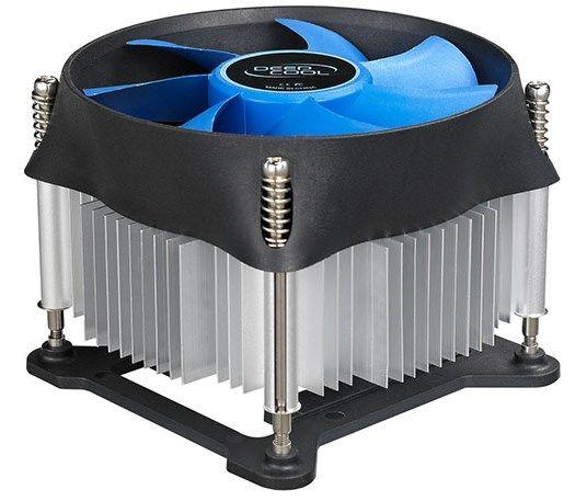 DeepCool THETA20 Intel socket cpu kuler 95W 100mmFan 2200rpm 38CFM 30dBa LGA115x/ i7i5i3 375gr (568)