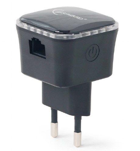 WNP-RP300-01-BK Gembird WiFi ripiter/router 300Mbps, 1x LAN black