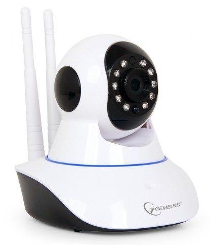 ICAM-WRHD-01 Gembird HD zicna+bezicna video nadzor IP kamera, night/day LED, SD,360, mik.+zv.