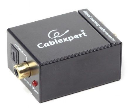 DSC-OPT-RCA-001 Gembird Digital to analog audio converter
