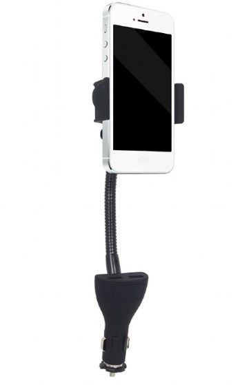TA-CHU2 Gembird Drae mobilnog telefona za auto sa USB punjacem fo