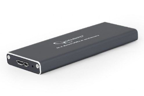 EE2280-U3C-01 Gembird M.2 drive USB3.0 enclosure, black