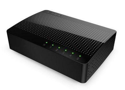 Tenda SG105 LAN 5-Port Gigabitni Switch RJ45 Ports 10/100/1000M
