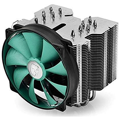 DeepCool LUCIFER-V2* UNI kuler 150W 140mm.Fan 300~1400rpm 81CFM 12~31dBa LGA Intel/AMD 1079g 6xpipes
