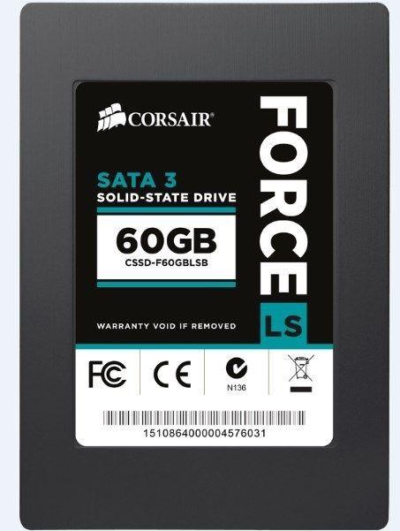 SSD 2.5'' * Corsair 60GB 540/440MB/s CSSD-F60GBLSB/RF2 (1799)